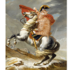 Jacques-Louis David, Napoleon Crossing the Alps