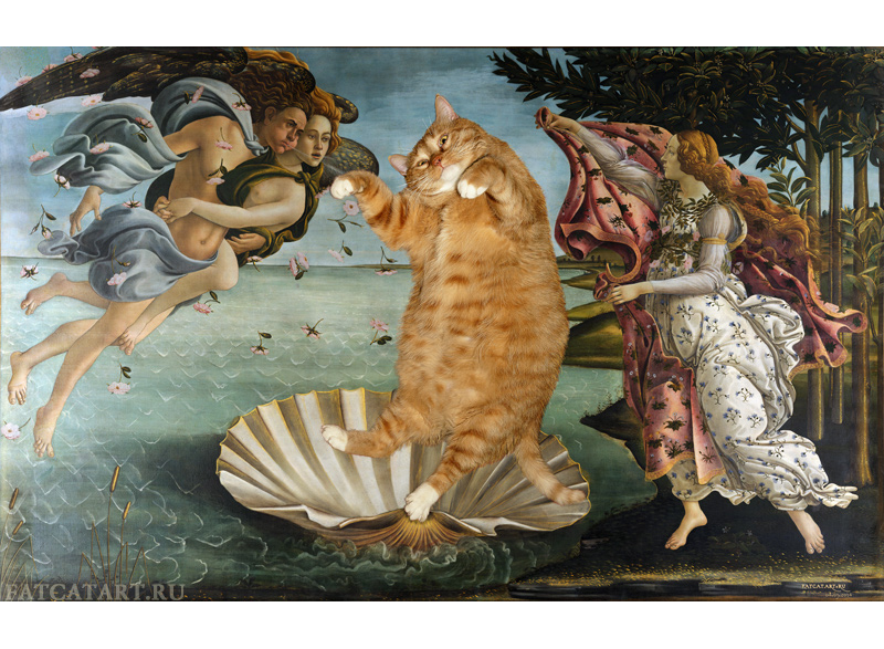 Sandro Bottichelli, The Birth of Venus, True version