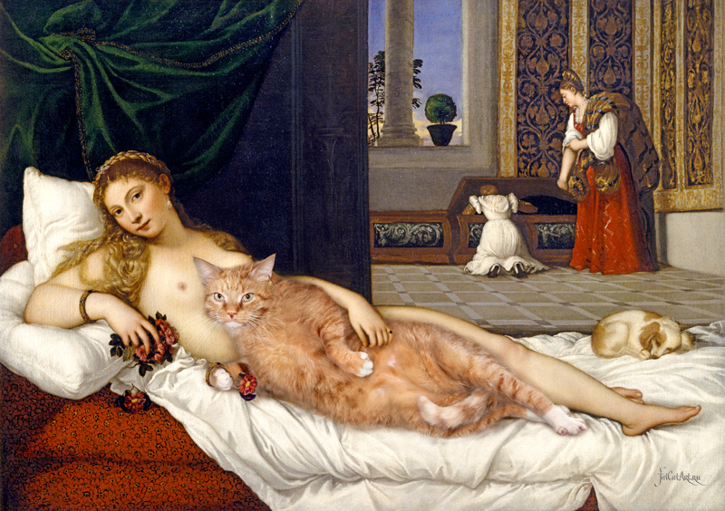 Titian, Venus of Urbino. Happily ever after
