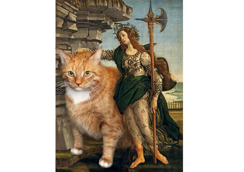 Sandro Bottichelli, Pallas and The Cat