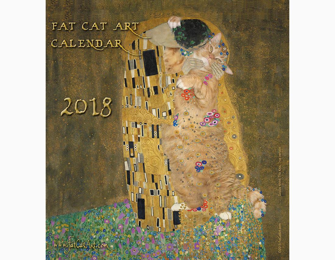 FatCatArt Calendar 2018