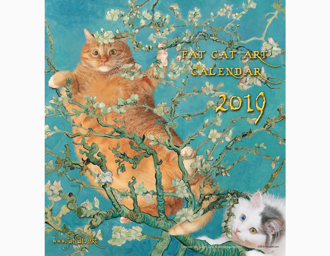 Календарь FatCatArt на 2019 год
