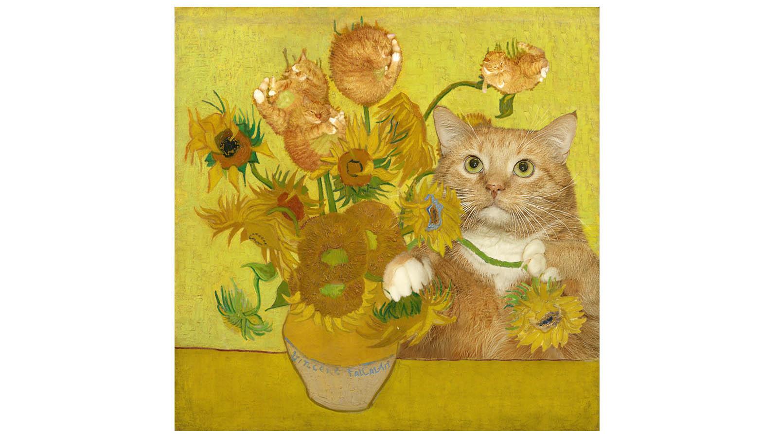 Винсент Ван Гог. Подсолнухи — это рыжие котята
