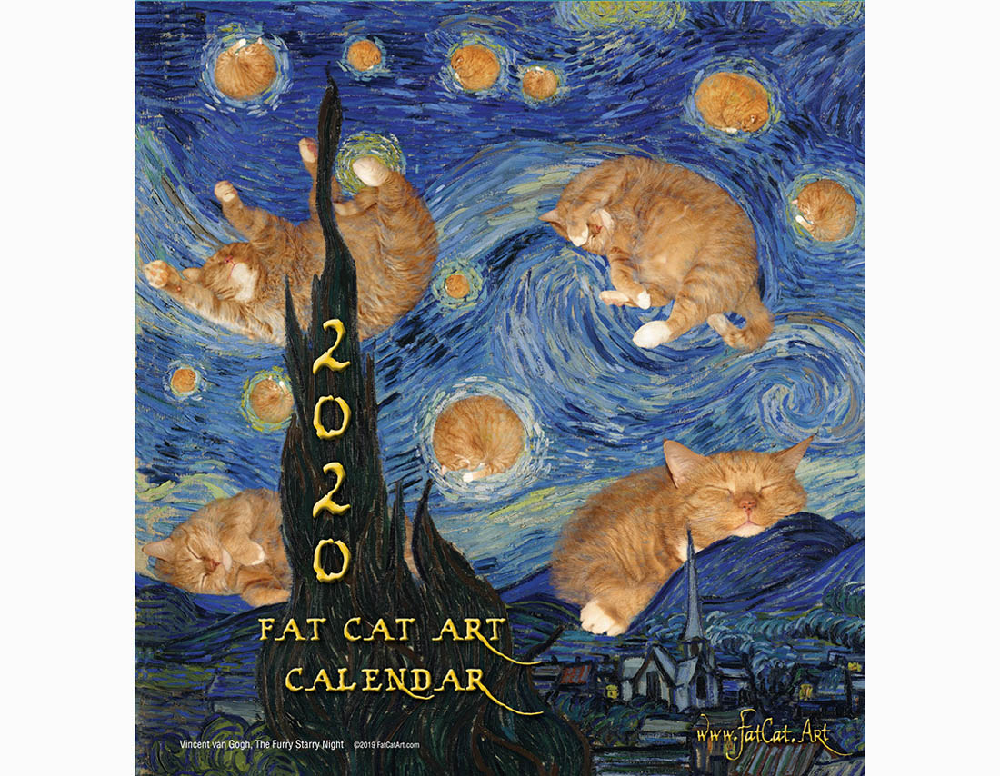 FatCatArt Calendar 2020